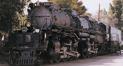 Union Pacific Big Boy Locomotive